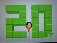 Wii Fit Plus 2011年8月24日のバランス年齢 20歳
