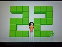 Wii Fit Plus 2011年9月4日のバランス年齢 22歳