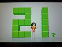 Wii Fit Plus 2011年9月5日のバランス年齢 21歳