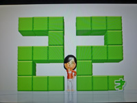 Wii Fit Plus 2011年10月23日のバランス年齢 22歳