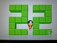 Wii Fit Plus 2011年10月31日のバランス年齢 22歳