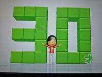 Wii Fit Plus 2011年11月6日のバランス年齢 30歳