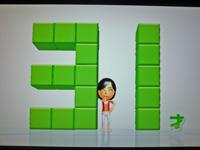 Wii Fit Plus 2011年11月15日のバランス年齢 31歳
