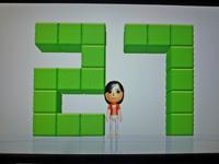 Wii Fit Plus 2011年11月19日のバランス年齢 27歳