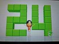 Wii Fit Plus 2011年11月23日のバランス年齢 24歳