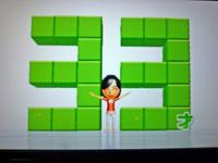 Wii Fit Plus 2011年11月24日のバランス年齢 33歳