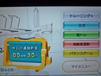 Wii Fit Plus 2011年12月02日の運動時間