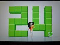 Wii Fit Plus 2011年12月03日のバランス年齢 24歳