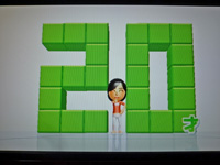 Wii Fit Plus 2011年12月05日のバランス年齢 20歳