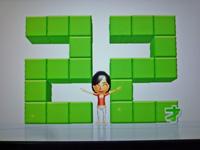 Wii Fit Plus 2011年12月10日のバランス年齢 22歳