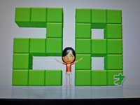 Wii Fit Plus 2011年12月13日のバランス年齢 28歳