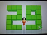 Wii Fit Plus 2011年12月18日のバランス年齢 29歳