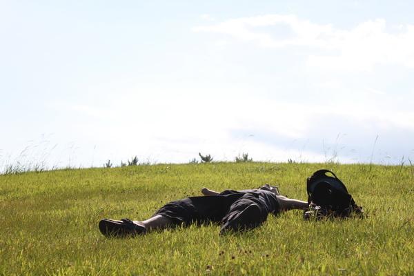 tomoさんお昼寝