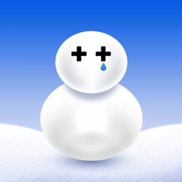 雪だるま のコピー