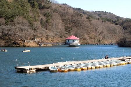 寒くないの?円良田湖