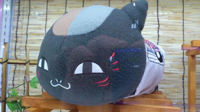 黒ニャンコ枕