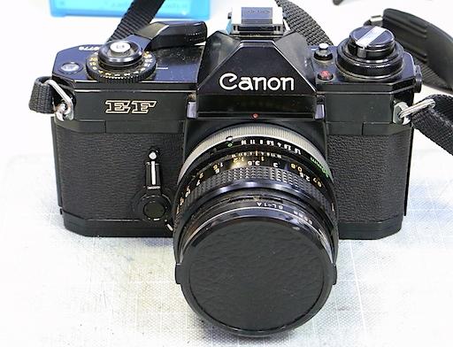 Canon EF修理前