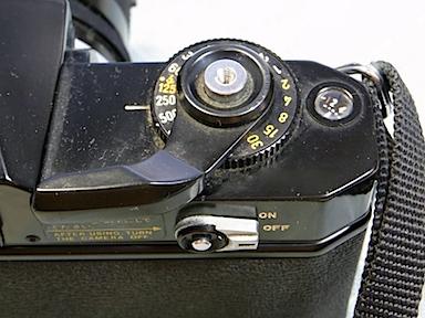 Canon EF 巻き上げレバー