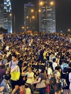 香港民主化デモ