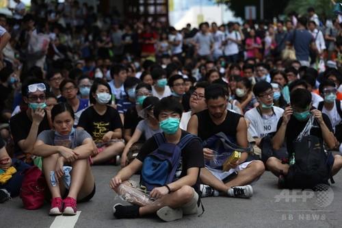 香港民主化デモ2