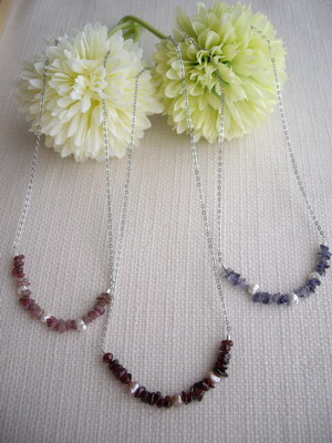 bar style necklace