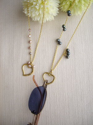 eye glasses holder necklace