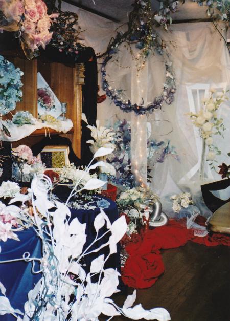 ブログクリスマスの花B