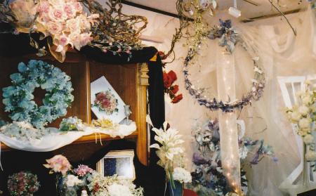 ブログクリスマスの花F