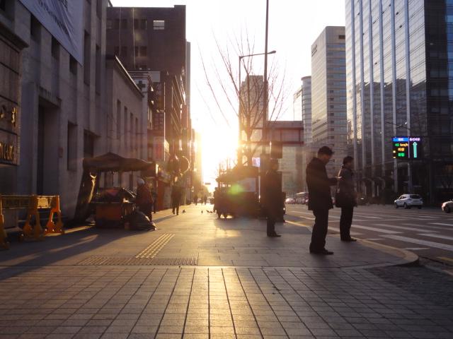 2013年3月 朝の光化門