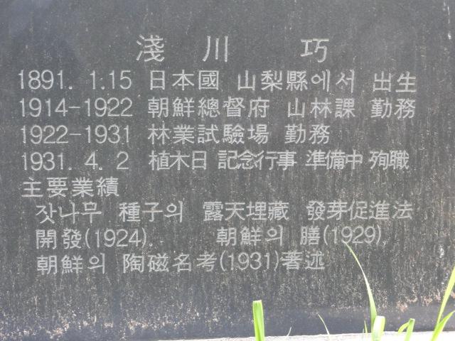 2013年5月17日 浅川巧墓5