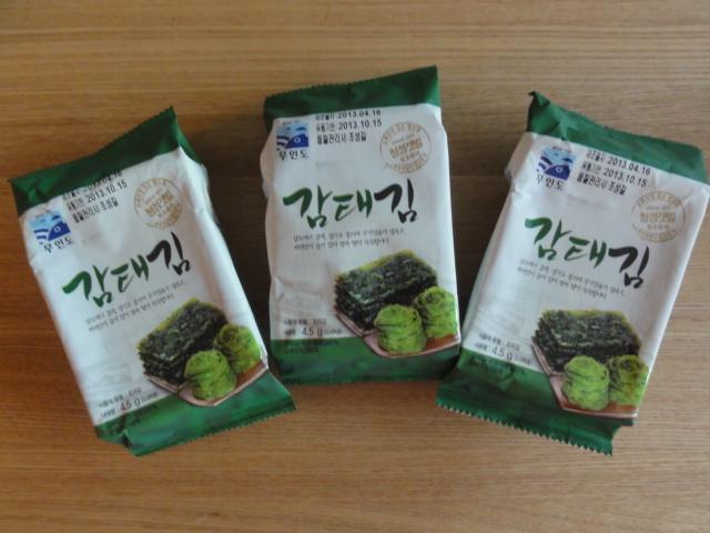 2013年5月29日 Eマート韓国海苔