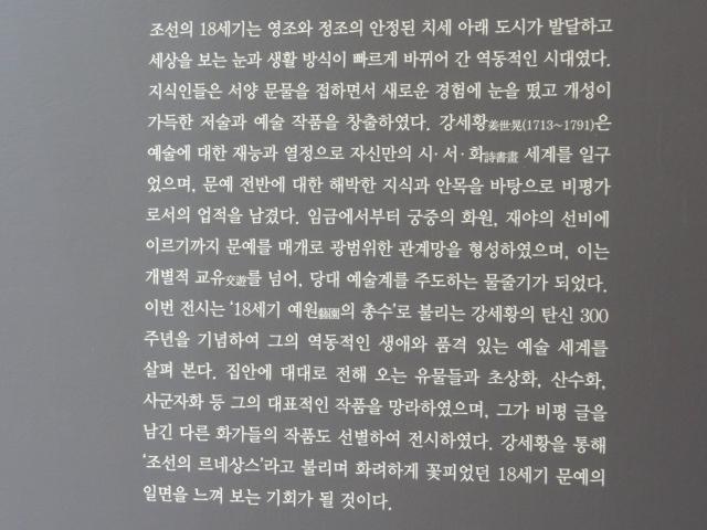 2013年7月30日 姜世晃展3