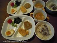 蓮根バーグ&豆腐ピカタ。
