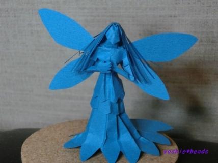 切り折り紙 妖精