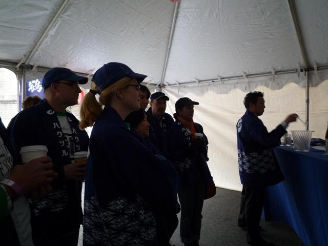 volunteers listening