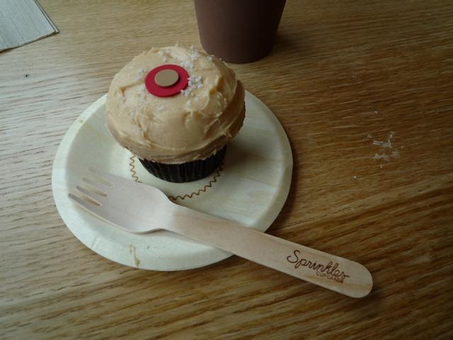 cupcake salty caramel