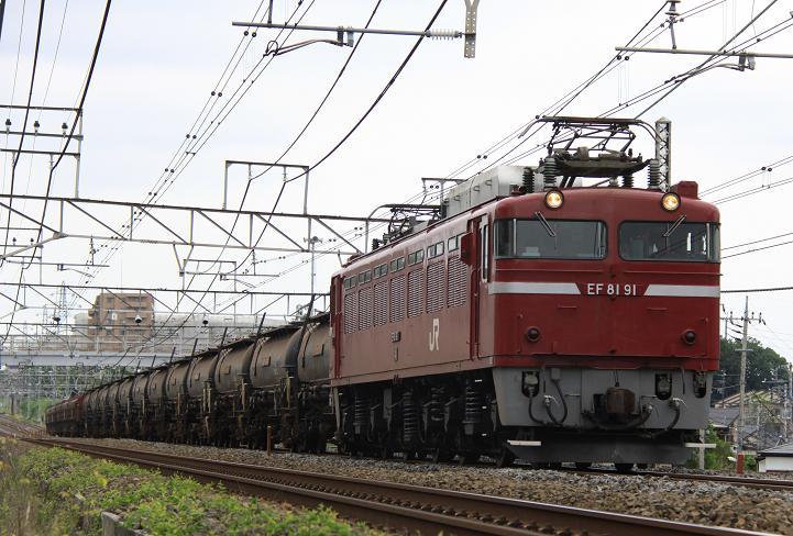 5388レ EF81 91+タキ12+トキ5