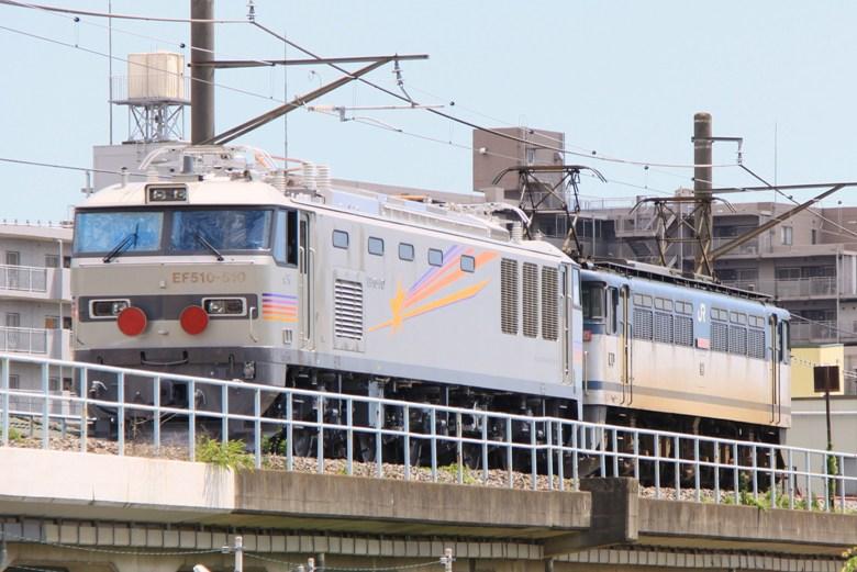 EF65 1070+EF510 510