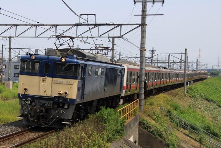 EF64 1032+ケヨ33