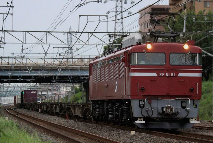 2092レ EF81 81+コキ16