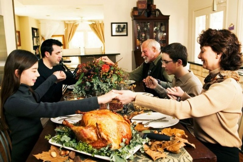 thanks giving day -