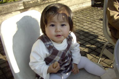 Kanae 1years old