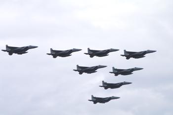 F-15大編隊