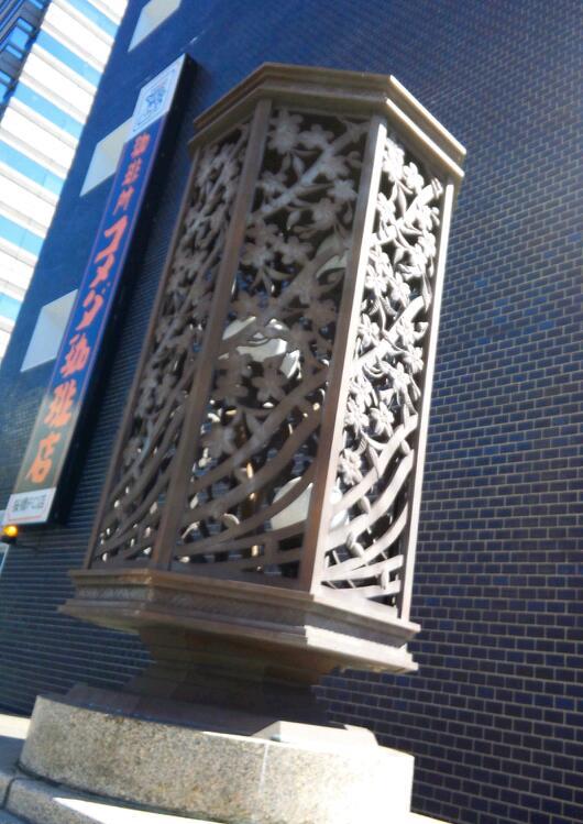 桜橋の欄干のレリーフ(と言うのか?
