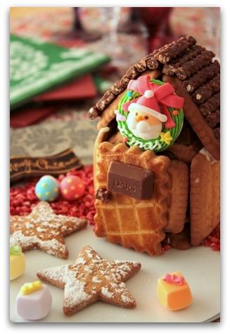 クリスマス お菓子の家 (6)