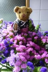 ベァーと花