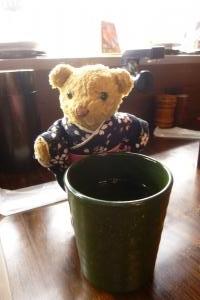 ベァー & お茶