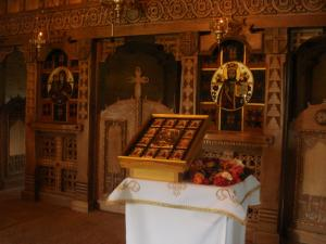 バルサナ教会の祭壇