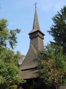 マラムレシュの木造教会もある