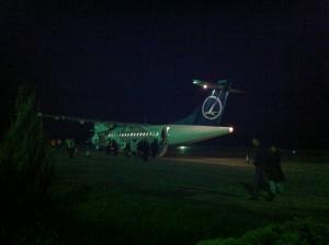 バイア・マーレのタロム航空